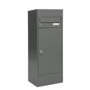 mefa 483 balsa met 1 brievenbus basalt grijs