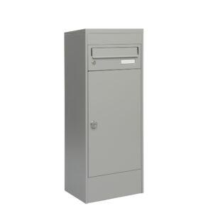 mefa 483 balsa met 1 brievenbus zilver grijs