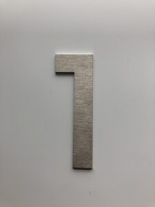huisnummer fuji 7 cm